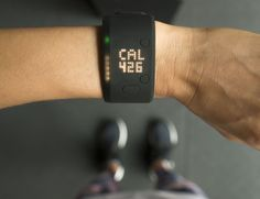 Track your daily activity with the added benefits of a built in heart rate monitor from the Fit Smart Activity Monitor by adidas.