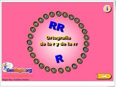 """Pasapalabra: Ortografía de la """"r"""" y de la """"rr"""" Online Gratis, Ideas Para, Meme, Interactive Activities, Teaching Reading, Homeschool, Memes"""