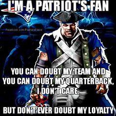 New England Patriots #Loyal #PatsFan4Life