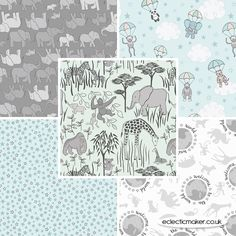 Lewis and Irene Fabrics - Welcome to the World - Fabric Pack in Multi