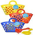 Beach Toy Tote Sets, 3 pc.
