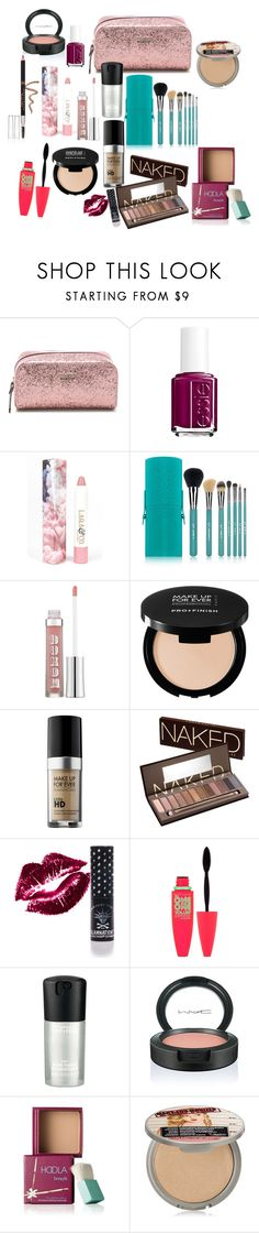"""Untitled #163"" by brenna-renee ❤ liked on Polyvore featuring beauty, Kate Spade, Essie, LAQA & Co., Sigma, Buxom, MAKE UP FOR EVER, Urban Decay, Manic Panic NYC and Maybelline"