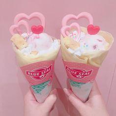 Japanese Snacks, Japanese Candy, Japanese Sweets, Japanese Food, Japanese Crepes, Bento Kawaii, Kawaii Dessert, Cute Snacks, Eat This