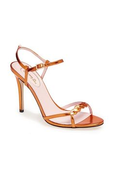 COLLABS - so, meet Sarah Jessica Parker's adorable Pumpkin! - SJP 'Brigitte' Sandal (Nordstrom Exclusive) available at #Nordstrom