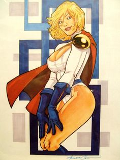 Power Girl by Amanda Conner