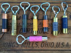 Our Double Capped Shotgun Shell Bottle Openers use our patented (US Patent D777599) double capped design. They are truly fresh & unique and we would be very surprised if you found anything like this on the internet or in a speciality store today. They are brand-new, very