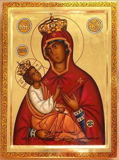 Theotokos by Anna Makac