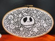 nightmare before christmas cross stitch patterns - Google Search