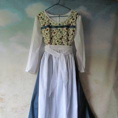 Woman s Belle Dress Dirndl  amp  Apron  Beauty And The Beast Belle Dress, 5f5a0de1d4