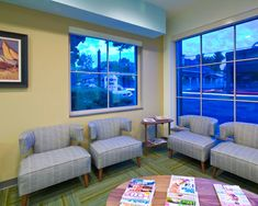 Excelsior Town Dental.  Furnishings were selected to enhance the comfort level of the patients.