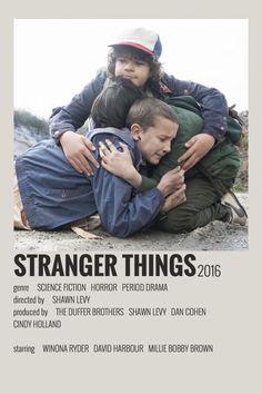 Stranger Things Kids, Stranger Things Netflix, Minimal Movie Posters, Film Posters, Duffer Brothers, Serie Tv, Poster Series, Best Series