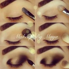 Step by Step Nails, Dresses, Make up, Hair Styles and more Tutorials - http://www.1pic4u.com/blog/2014/11/12/step-by-step-nails-dresses-make-up-hair-styles-and-more-tutorials-371/