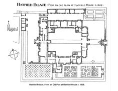 Learn about the fascinating Old Palace of Hatfield, a grand Tudor palace once belonging to Henry VIII, and the place where Elizabeth I navigated conflict, scandal & accusations of treason, before becoming queen in elizabethi English Manor Houses, English House, Tudor History, British History, Hatfield House, Tudor Monarchs, Tudor Era, Medieval Houses, History Online