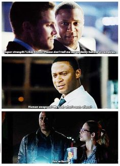 Diggle is the best.<3 What would be your reaction in a crossover with Supernatural? :)) #Flarrow