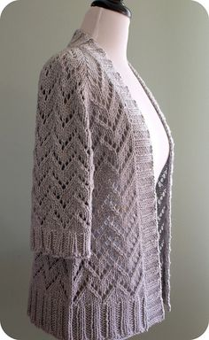 Ravelry: Crafter's Bay Cardigan pattern by Jennifer Lang