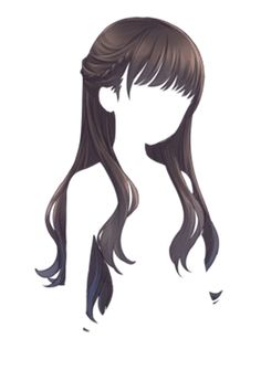 Hairstyle Drawing I know this is cartoon hair but the style would work irl too - Anime Girl Hairstyles, Hairstyles With Bangs, Drawing Hairstyles, Bangs Hairstyle, Costume Manga, Wie Zeichnet Man Manga, Pelo Anime, Cartoon Hair, Hair Sketch