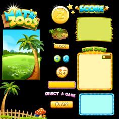 game Ui by jyz83.deviantart.com on @deviantART