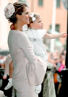 """""""The Christening of Prince Oscar of Sweden 