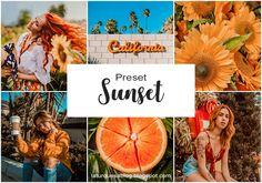 La Turquesa blog - Preset Sunset Grátis! Presets Do Lightroom, Lightroom Gratis, Afterlight, Valentines Diy, Instagram Feed, Photo Editing, Pictures, Blog Tips, Photo Tips