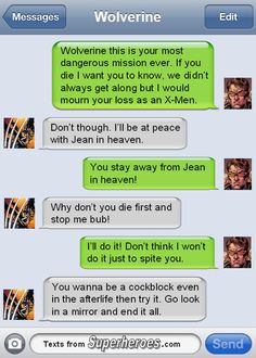 Texts From Superheroes Patreon | Facebook | Twitter | Pinterest