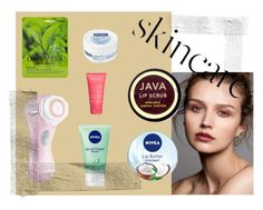 """""""skincare"""" by nerea-her on Polyvore featuring Belleza, SkinCare, Nivea, Clarisonic, Java y Forever 21"""