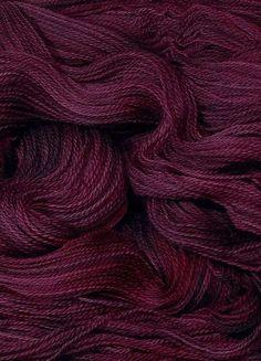 Merino Wool Yarns ~ Aubergine