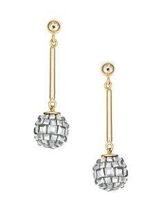 disco fever drop earrings
