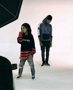 Chris x Jhene Aiko | Black Pyramid photo shoot - Nov 3, 2016