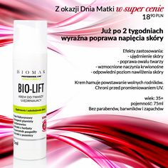 BIO-LIFT - Krem ujędrniający do twarzy - Biomak - producent sprzętu kosmetycznego
