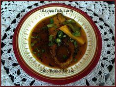 Tilapia Fish Curry | Bengali Fish Curry ~ Esho Bosho Aahare