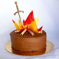 PRAISE THE SUN for this Dark Souls birthday cake I made! [OC] http://ift.tt/2lz705O