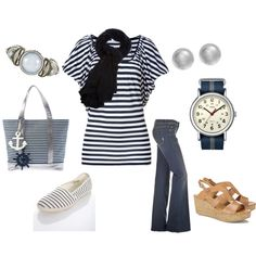Nautical Look, created by stigro on Polyvore