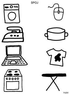 Spojovačky Free Preschool, Preschool Worksheets, Montessori Activities, Preschool Activities, Lkg Worksheets, Activity Sheets For Kids, Social Emotional Development, Teaching The Alphabet, Einstein