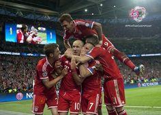 Robben's satisfaction