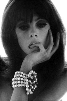 Jean Shrimpton photographed by Bert Stern, 1960s.