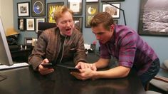 Dave Franco and Conan O'Brian make their jobs look fun in their recent video about using Tinder. Even though it's a comedian show it's still important to enjoy your work sometimes. Social media has all sorts of angles and possibilities at your fingertips. It's a place to let creativity fly to interact with audiences.  #davefranco #conanobrian #tonightshow #lateshow #tinder #comedy