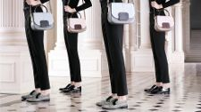 Tod's Women's Autumn Winter 2013-2014 Collection. Flap shoulder #bags with lizard details; menswear inspired lace-ups in leather and graphic design calf hair.