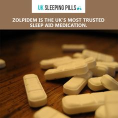 Zolpidem is the UK's most trusted sleep aid medication.