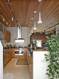 Boston Luxury Condos by LuxuryCondosBoston.com >> Boston Luxury Condo Sale >> 134 Beach Street #7: Galley style kitchen