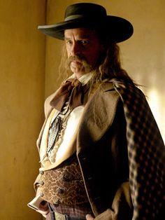 DEADWOOD (2004) (HBO-TV Mini-Series) - Keith Carradine as 'Wild Bill Hickok'.