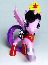 My Little Pony Wonder Woman OOAK Custom figure FiM Super hero Wonderwoman MLP