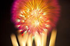 Long Exposure Fireworks – by David Johnson