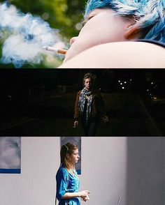 Blue Is The Warmest Color - Abdellatif Kechiche Everything Film, Everything Is Blue, Lea Seydoux Adele, Film Blue, Blue Is The Warmest Colour, Still Frame, Light Film, Lgbt Love, Color Quotes