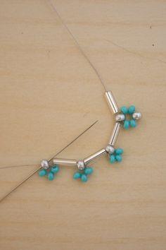 Bugle Bead Earrings DIY                                                                                                                                                                                 More