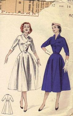 Butterick 1950s Swing Full Skirt Rockabilly by AdeleBeeAnnPatterns, $16.50
