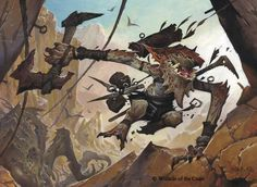 Goblin Freerunner - from Magic The Gathering Oath of the Gatewatch by Wayne Reynolds