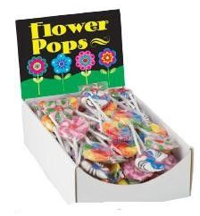 """These Flower Lollipops are perfect """"Ocean Flowers"""" at your Little Mermaid or Under The Sea themed party"""