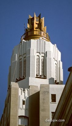 #ArtDeco | American Bank & Trust Building, New Orleans, Louisiana