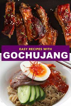 Side Dish Recipes, Asian Recipes, Ethnic Recipes, Korean Gochujang Recipe, Drink Recipes, Dinner Recipes, Korean Dishes, Magic Recipe, Food Heaven