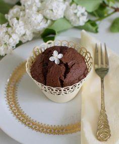 Elronthatatlan kakaós-csokis muffin - teljes kiőrlésű liszttel